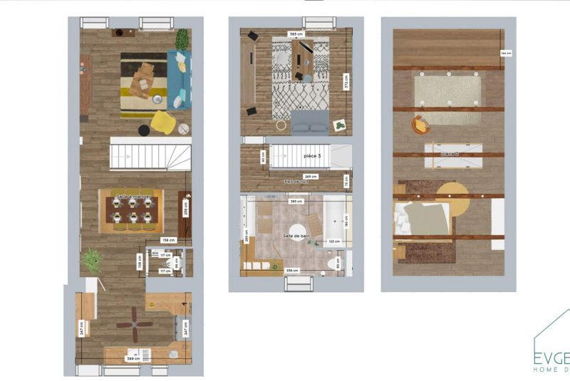 02 Plans avec mobiliers