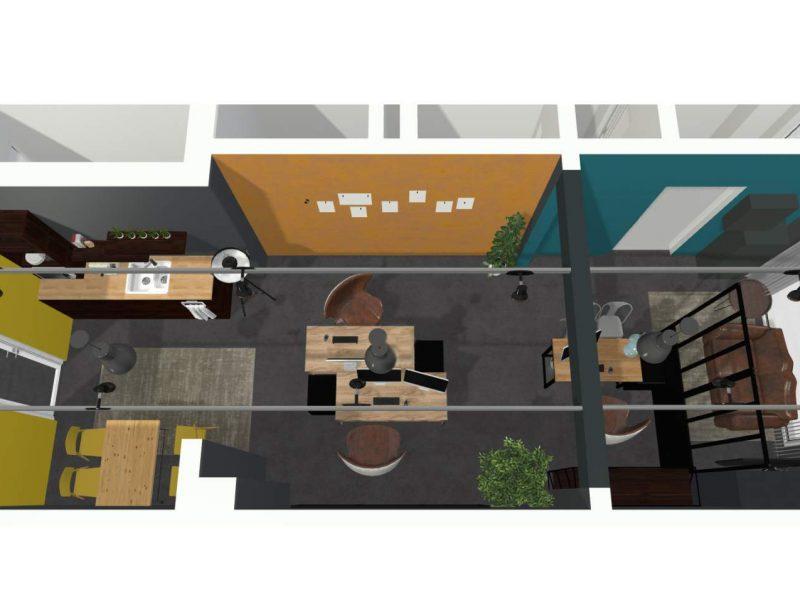 Vue 3D Bureau